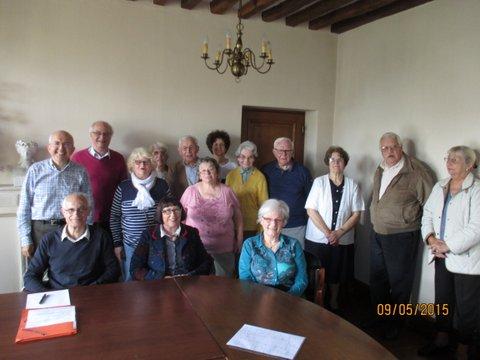Les membres de l'association réunis en assemblé générale